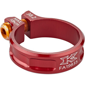KCNC Collarino reggisella MTB Ø38,2mm, rosso